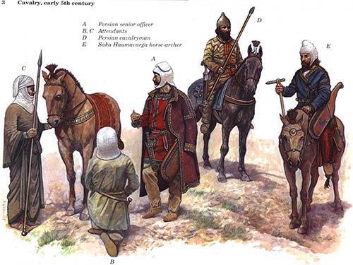 Персидская конница Ксеркса