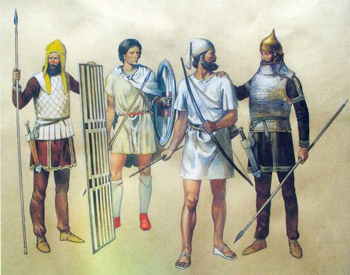 Персидская армия Ксеркса