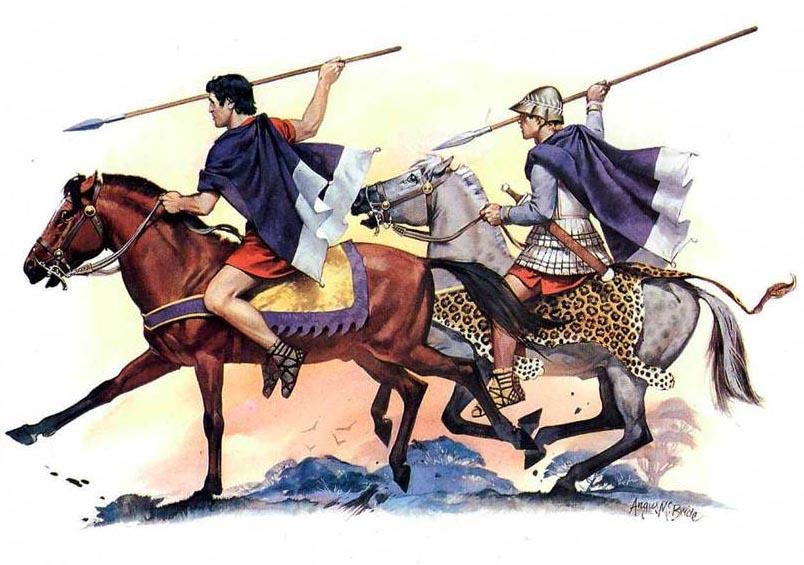 Эллинистическая конница, военная история