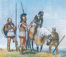 Кир в битве при Кунаксе