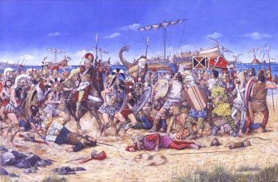 Битва при Марафоне, военная история