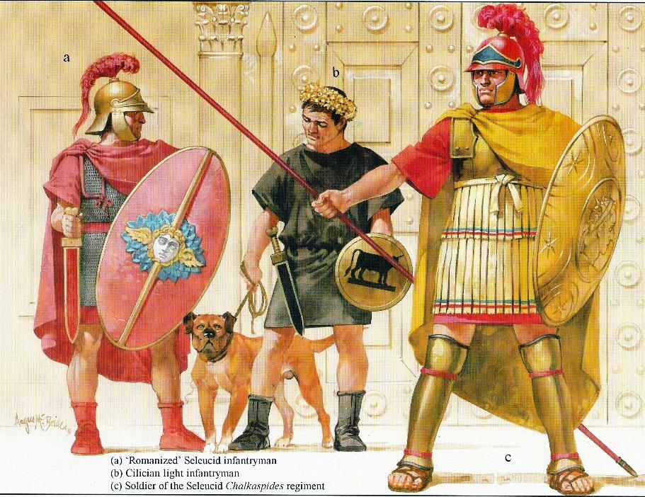 Пехота селевкидов