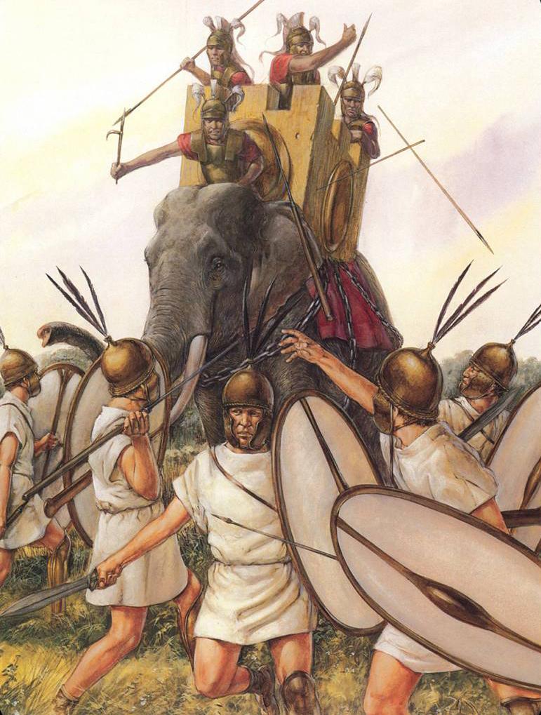 Пирр, битва при Аскуле, армия Пирра