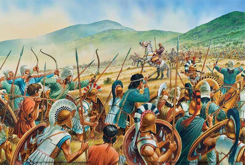 Масистий в битве при Платеях