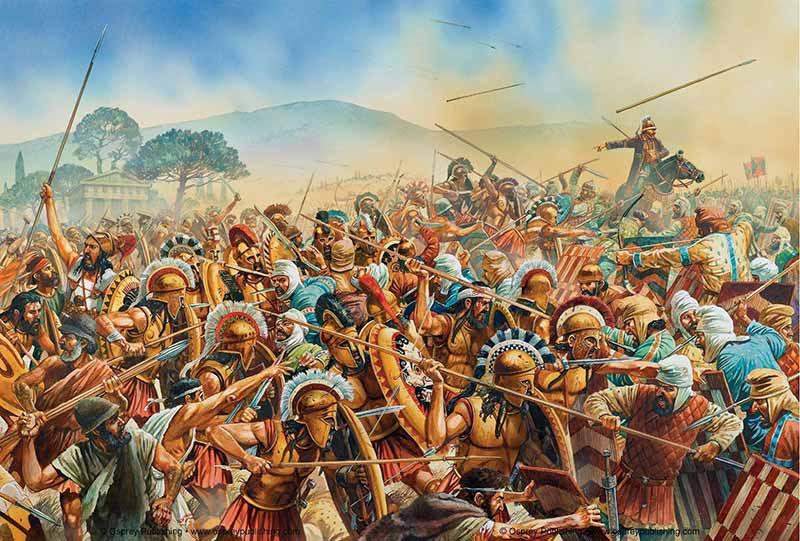 Мардоний в битве при Платеях
