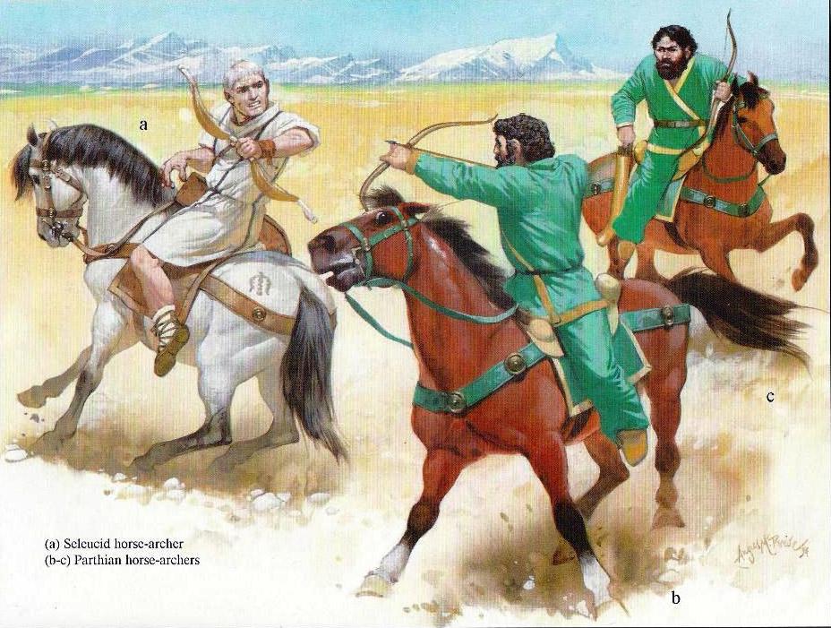 Легкая конница селевкидов
