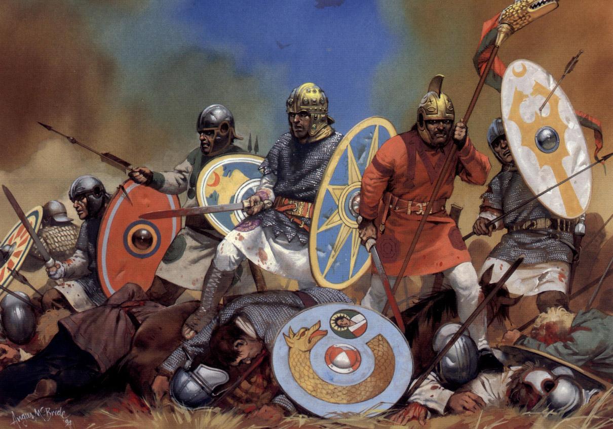 Метательное оружие 4 в. Битва при Адрианополе.