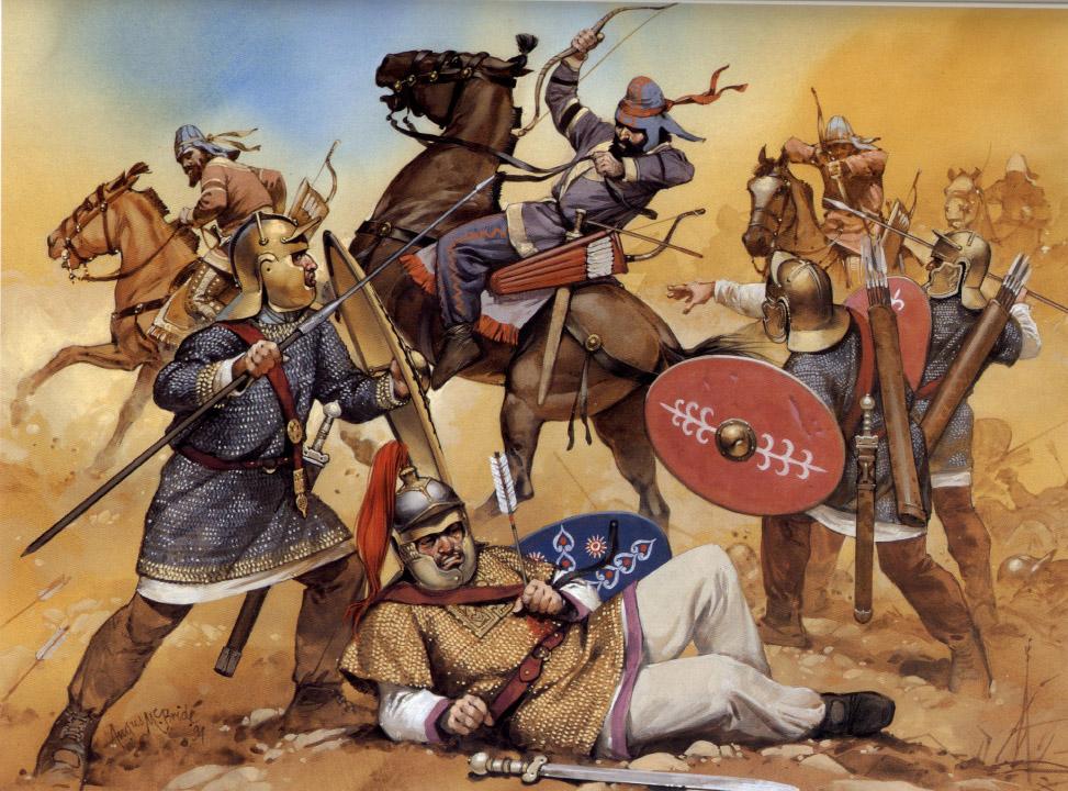 Метательное оружие 4 в. Персидский поход Юлиана.