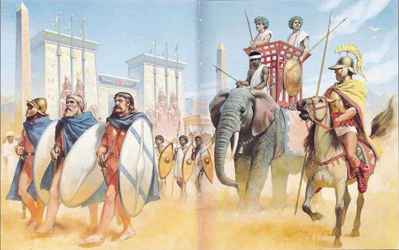 галаты в армии селевкидов