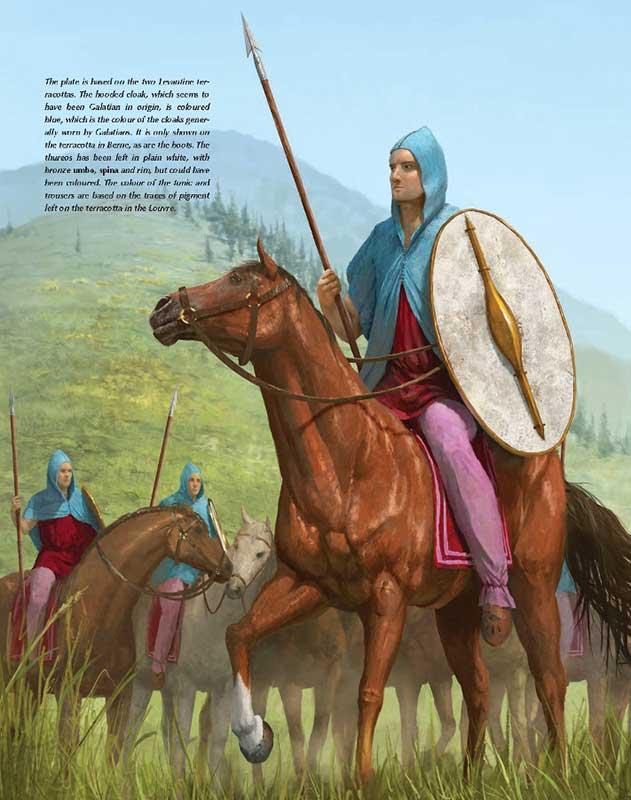 Наемная конница селевкидов (возможно галаты)