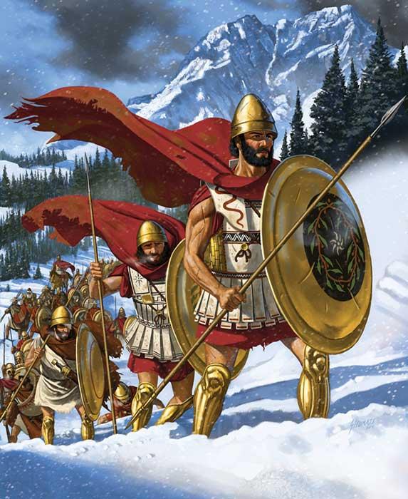 Ксенофонт ведет 10 000 греков