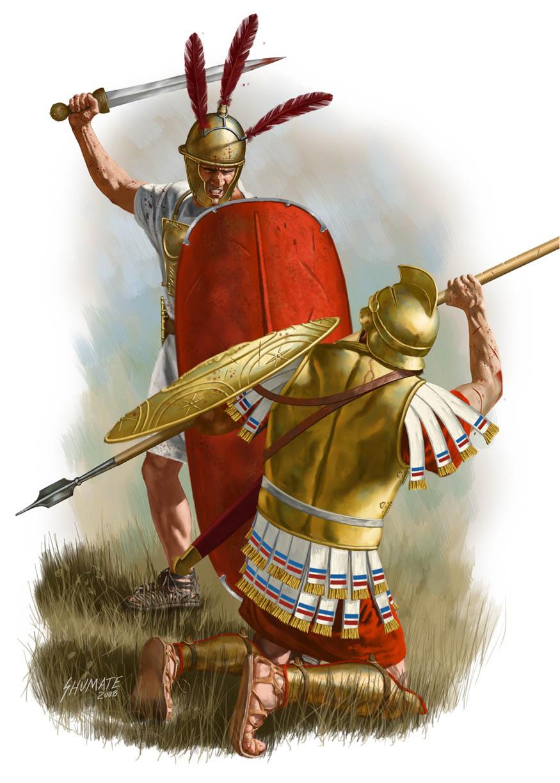 Легион против фаланги