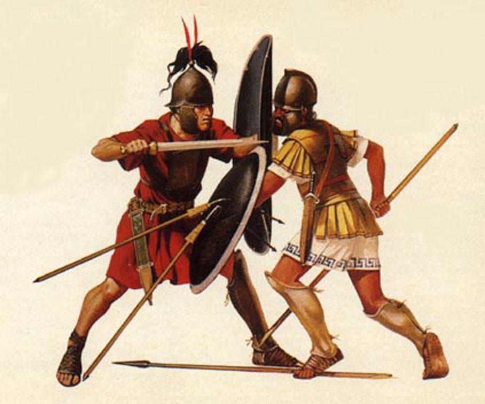 легионер против фалангита