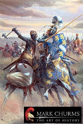Роберт Брюс в битве при Баннокберне