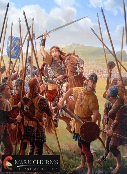 Уоллес во главе шотландских шилтронов