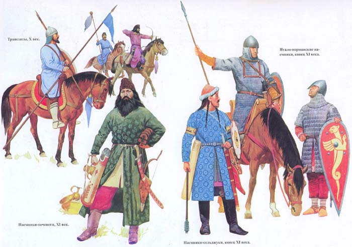 Byzantiune, военная история, военное обмундирование и вооружение