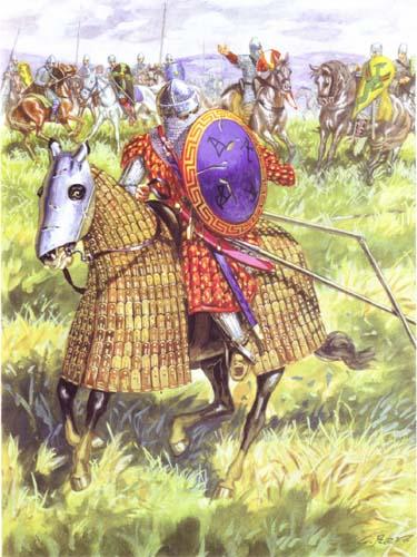 Бегство византийцев от норманнов