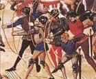 Битва при Креси, военная история