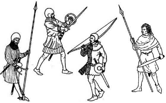 English_infantery, военная история, оружие, древнее вооружение