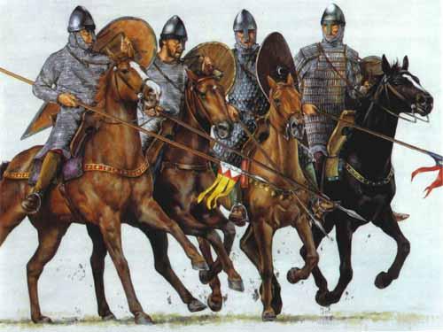 Норманнские рыцари, 11 в.