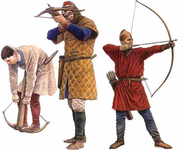 Легкая пехота норманнов