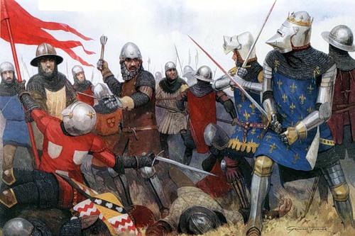 Пленение Иоанна Доброго в битве при Пуатье