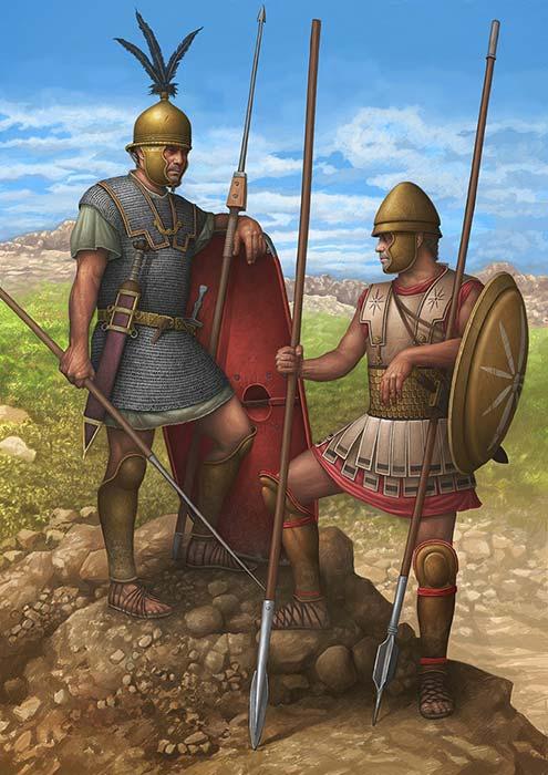 легионер и фалангит, 2 в. до н.э.