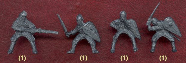 Normans Knight, фигурки солдатиков