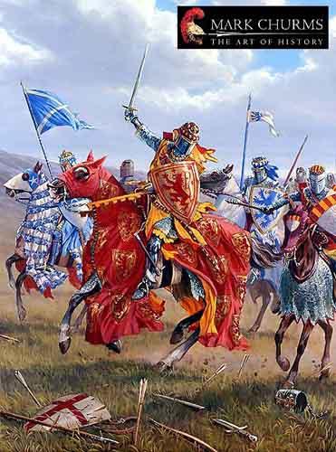 Роберт Брюс и шотландские рыцари