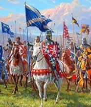 Уоллес, шотландские рыцари
