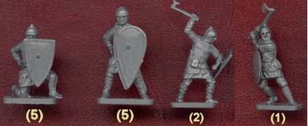 russ warior, фигурки солдатиков