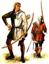 longbow, английские лучники, военная история, вооружение древности
