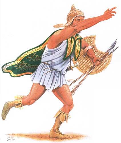 Пельтаст 5-4 в. до н.э.