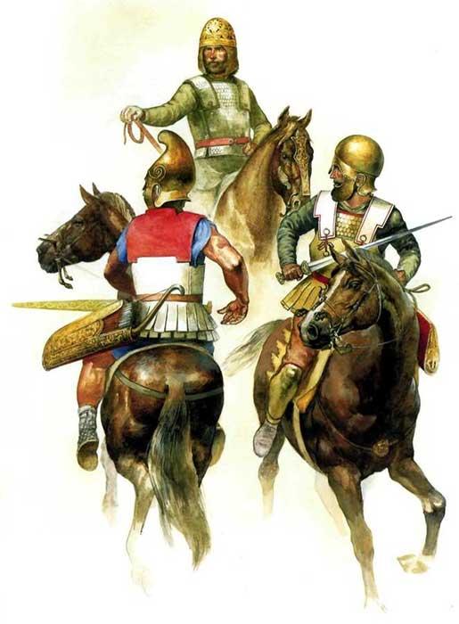 Конница Боспорского царства в армии Митридата