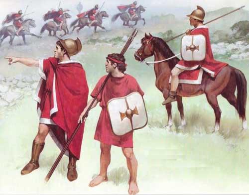 Эллинистические воины, Митридат, военная история