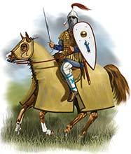 Византийский катафракт, 11 в.