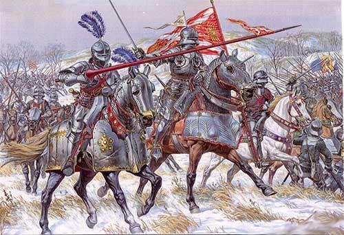 Бургундские жандармы