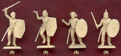 фигурки солдатиков - галлы