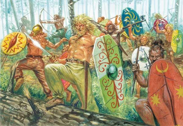 Германцы против Цезаря
