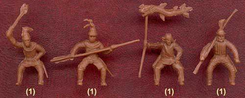 фигурки солдатиков - парфянские катафракты