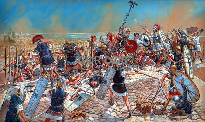 Битва при Тапсе, 46 г. до н.э.
