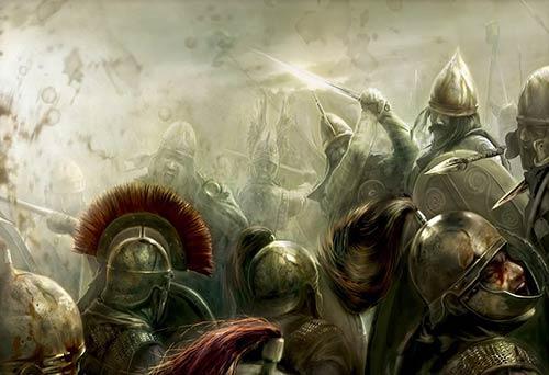 Галлы против легионов