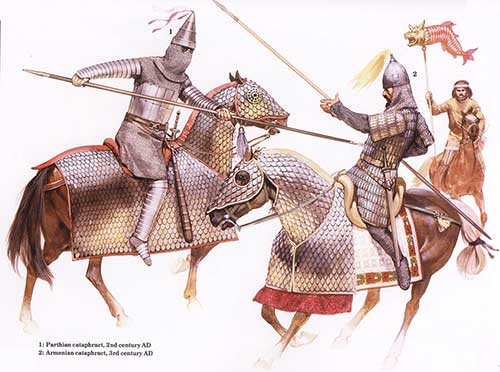 парфянский и армянский катафракты