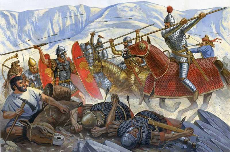 Парфяне против римских легионов