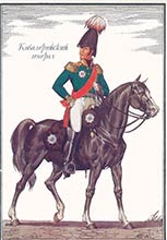русский мундир 1812 год