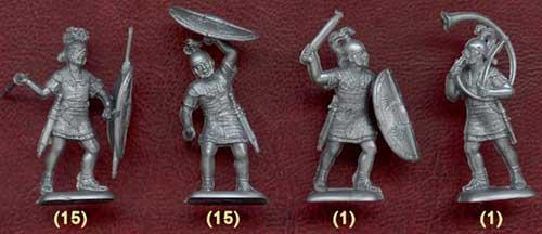 легионеры, 1 в. до н.э.