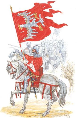 Польские рыцари в битве при Гюнвальде