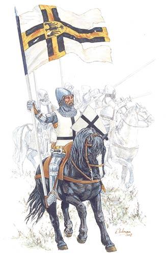 Тевтонские рыцари в битве при Грюнвальде
