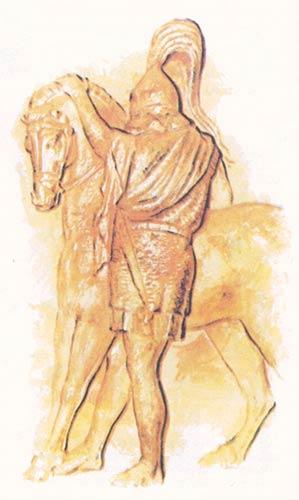 римский всадник 1 в. до н.э.