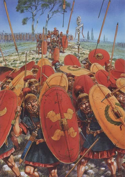 Помпей в битве при Фарсале